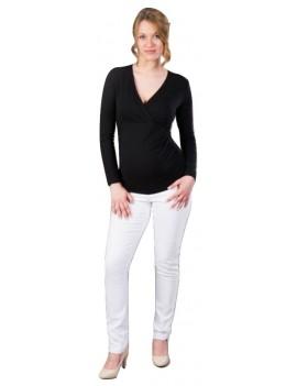 036693c9d Tehotenské nohavice GEMO Farba biela Veľkosť XXL